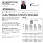 10 Tax Code Changes for 2015